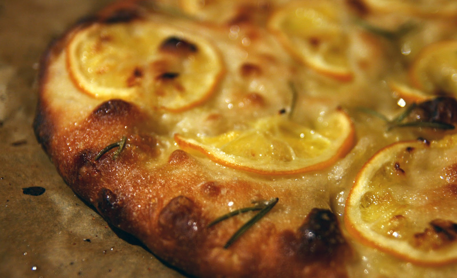 Meyer lemon focaccia recipe mostly foodstuffs for Food52 lemon bar