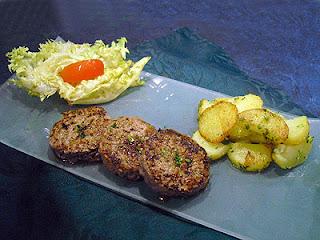 steaks hachés au cumin et coriandre