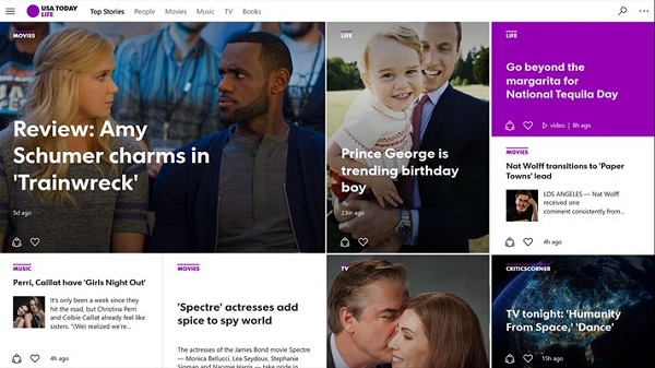 USA TODAY app for Windows 10 released