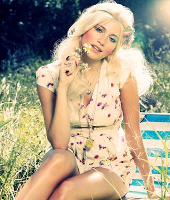 Pixie Lott Lipsy Spring Summer Photoshoot