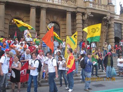 Ato histórico em São Paulo pelo Estado da Palestina Já - foto 40