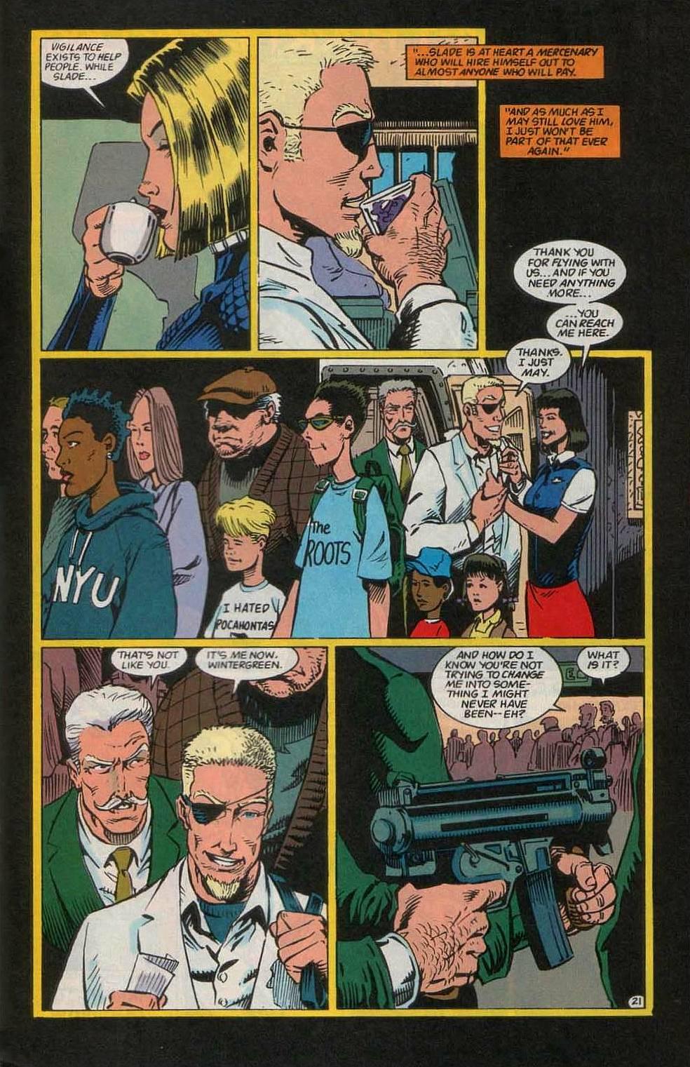 Deathstroke (1991) Issue #55 #60 - English 22