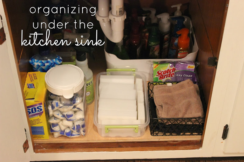Quick Fix Friday - Under the Kitchen Sink title=