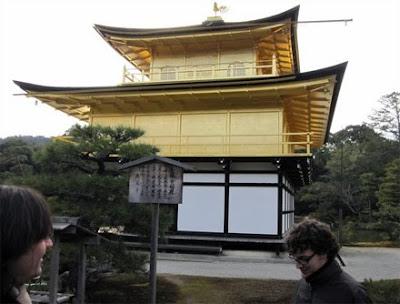 Kioto. Pabellón Dorado (& Iker)