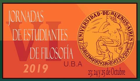 VI Jornadas de Estudiantes de Filosofía (UBA)