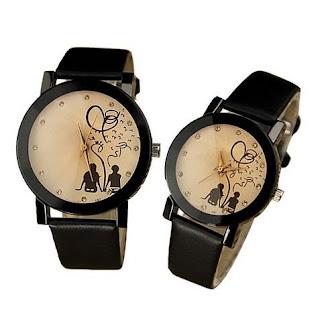 Jam Tangan Kulit ROMANTIC Bisa untuk couple, 145 Rb, Kode J165