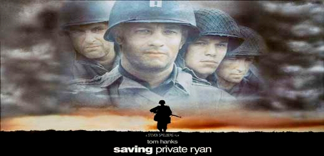a review of the movie saving private ryan I'm a pacificist, and the topic of war in general is something that pushes my buttons quite easily and profoundly so when i go into a movie about war, knowing it's a hollywood production, i'm pretty cynical about it my bias.