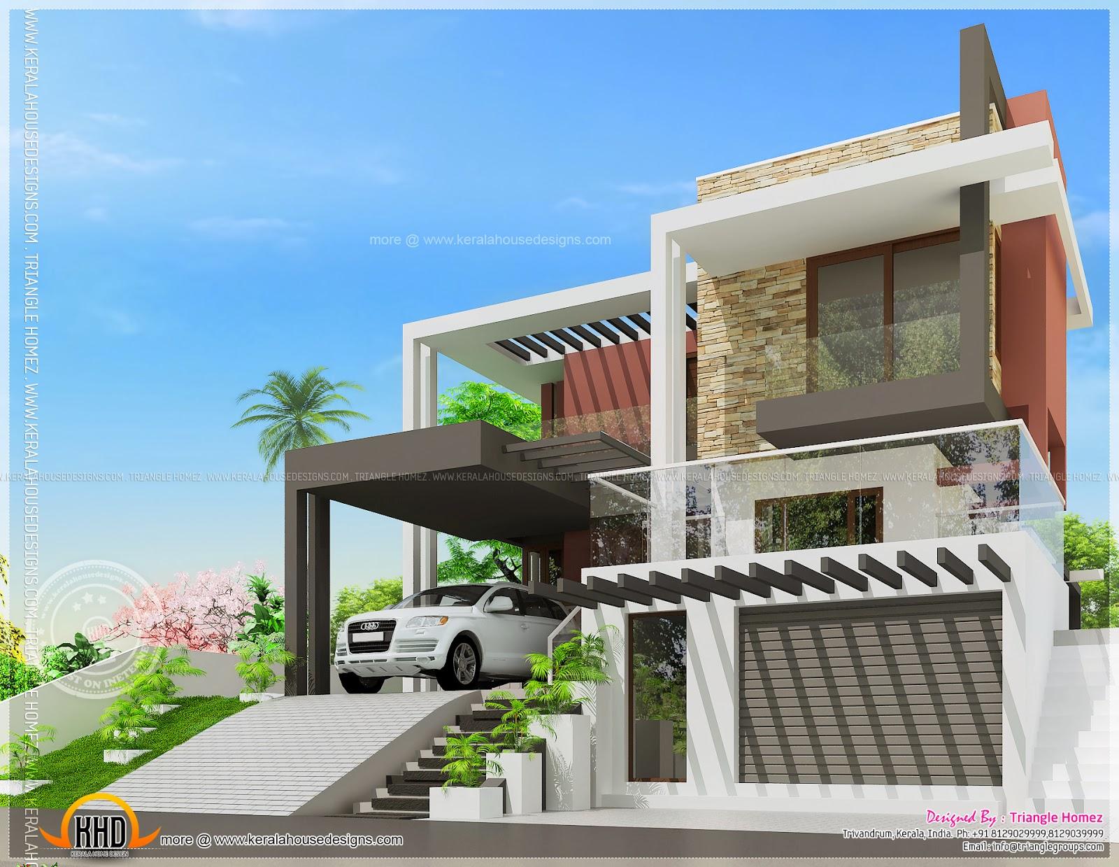 Beautiful House Design And Floor Plan In Nigeria