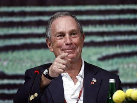 Tỷ phú Michael Bloomberg