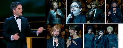 Ernesto Sevilla en los Premios Goya 2013