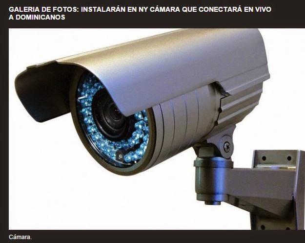 NY Instalarán cámara que conectará en vivo a dominicanos