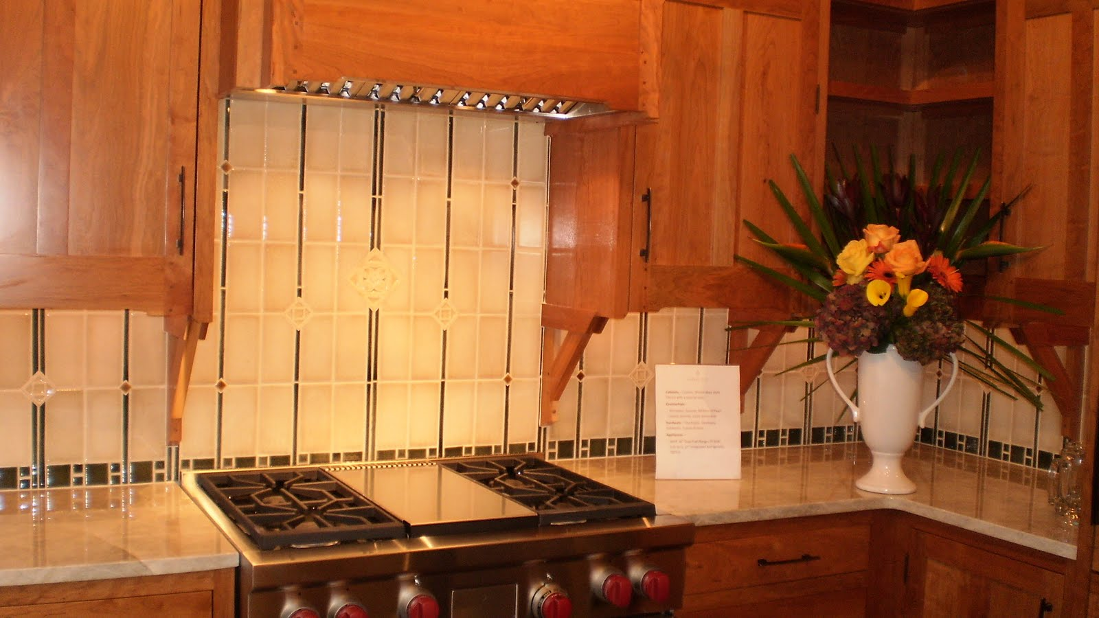 Tile Art Ceramic & Stone: Artisan Backsplash Designs