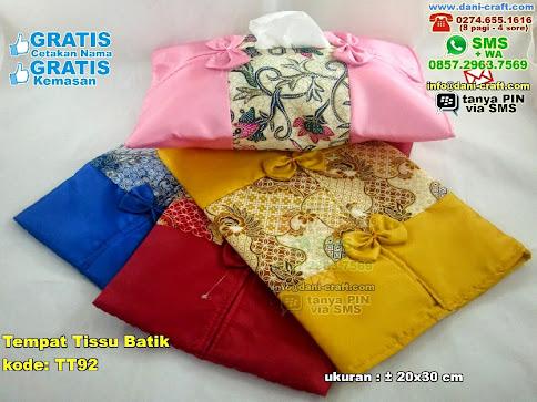 Tempat Tissu Batik Kain Habutay Batik