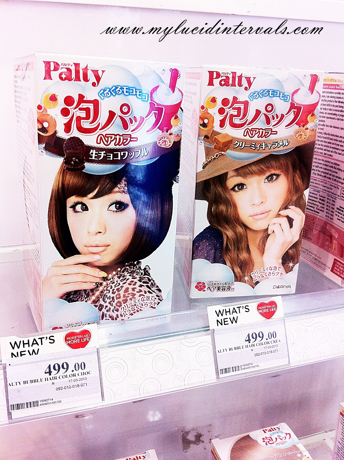 Whats New Palty Bubble Hair Color My Lucid Intervals