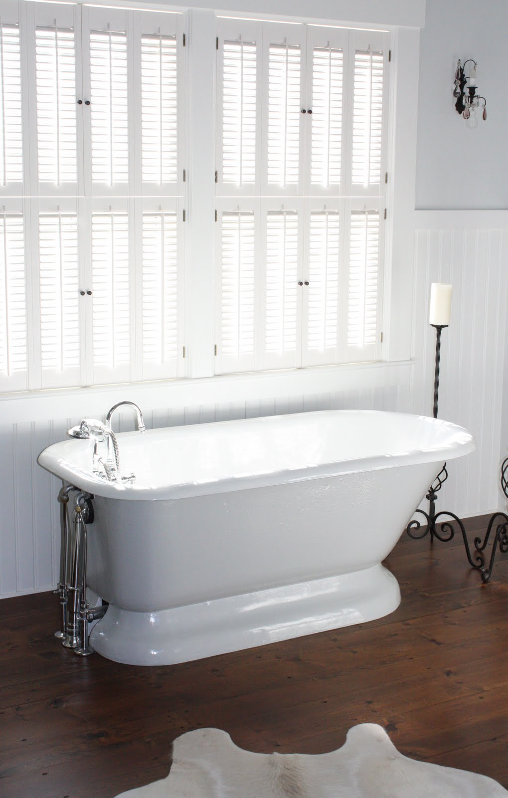 for the love of a house: the master bath: details