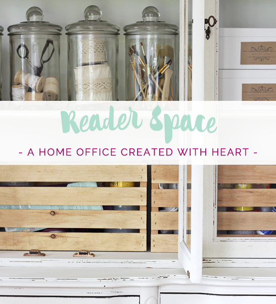Reader Space: A Home Office Created with Heart
