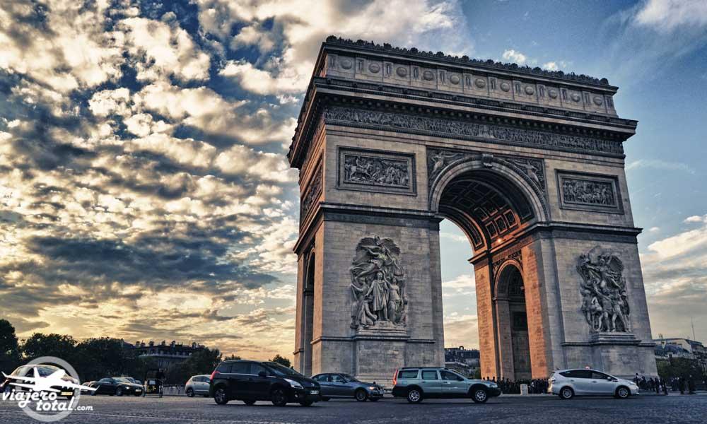 Arco Del Triunfo De Paris Disfruta De Las Mejores Vistas De La