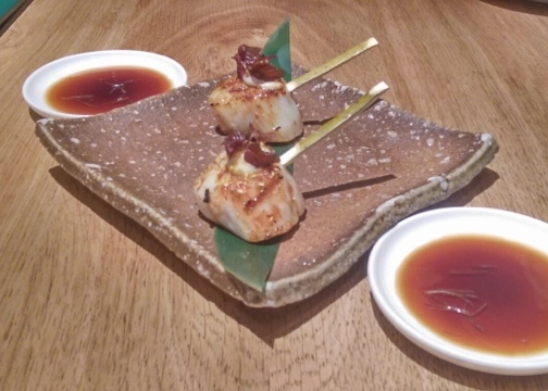 ROKA seared scallops japanese style