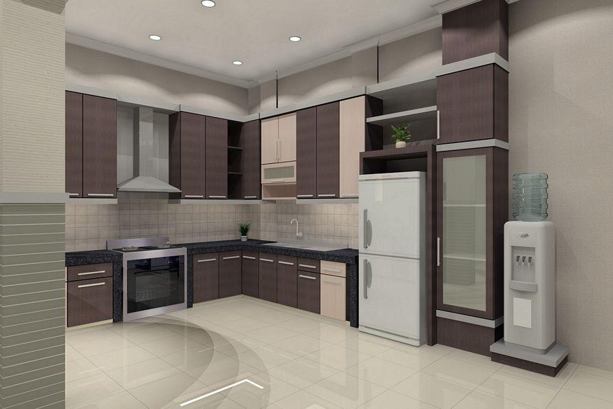 Gambar interior untuk dapur untuk rumah unik for Kitchen set unik