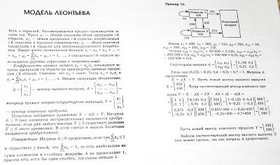 Курсовые работы по математике Выполняем контрольные и дипломные  ЭММ Модель Леонтьева Примеры решения задач репетитором по математике онлайн по skype
