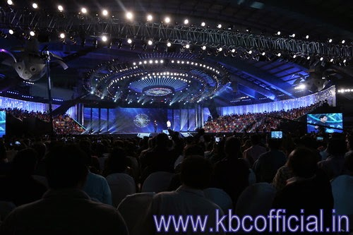KBC splendid night at surat stadium : Kaun Banega Crorepati season 8 - MEGA EVENT MOMENTS