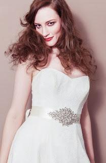 Vintage bridal sash-debbie carlisle-via Absolute Perfection
