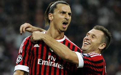 AC Milan 2 - 0 Viktoria Plzen (2)