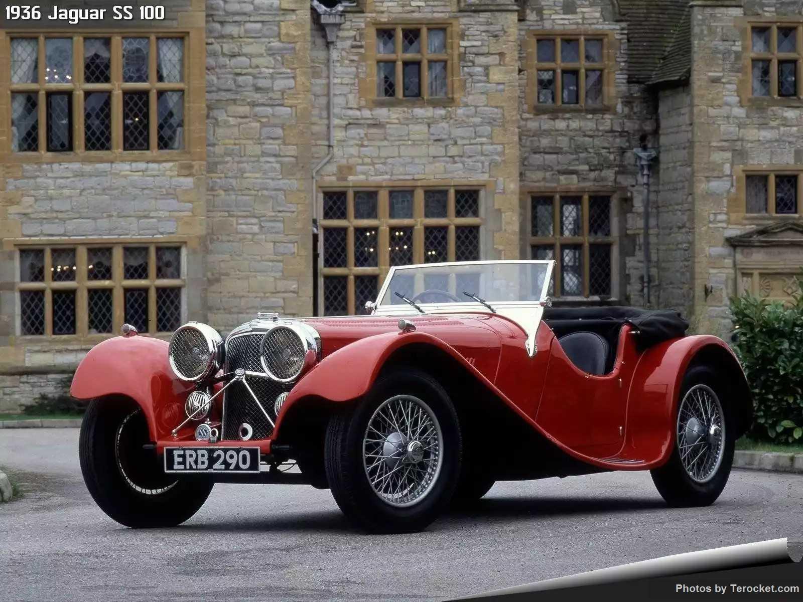 Hình ảnh xe ô tô Jaguar SS 100 1936 & nội ngoại thất