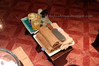 Khmer foot spa - sprzęt i kosmetyki.