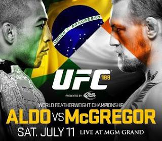 Comprar ingressos UFC 189 Las Vegas - José Aldo X Conor McGregor