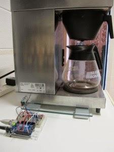 Cafeteira e Arduino