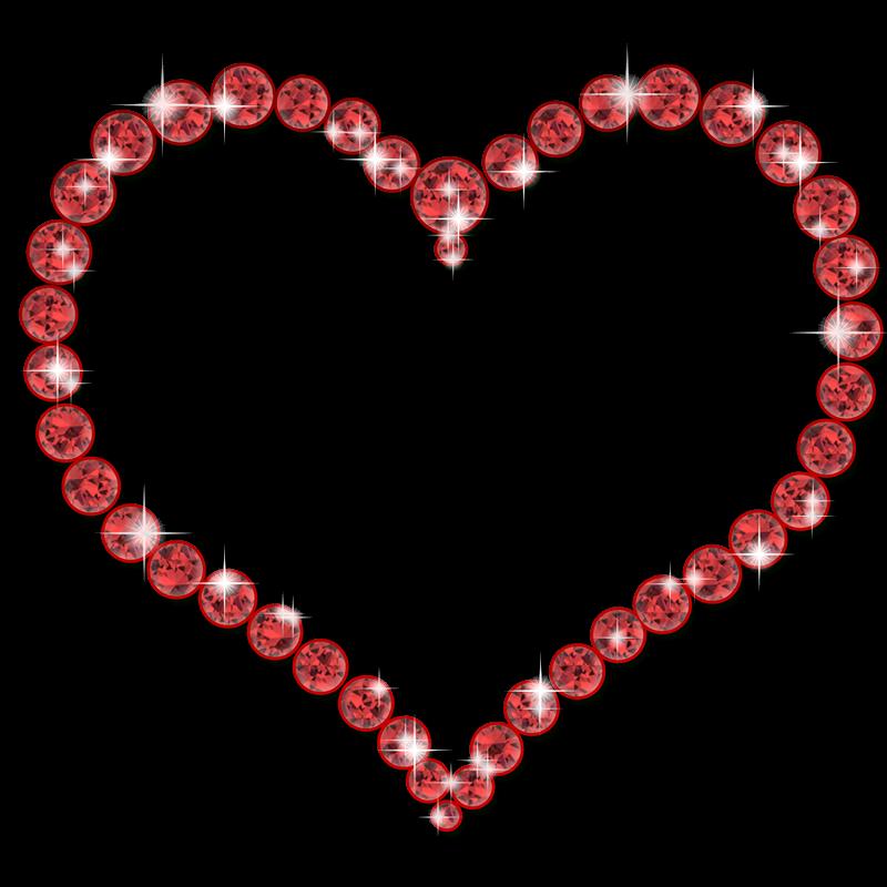 Elegantes bordes para fotograf as de corazones en png - Marcos de corazones para fotos ...