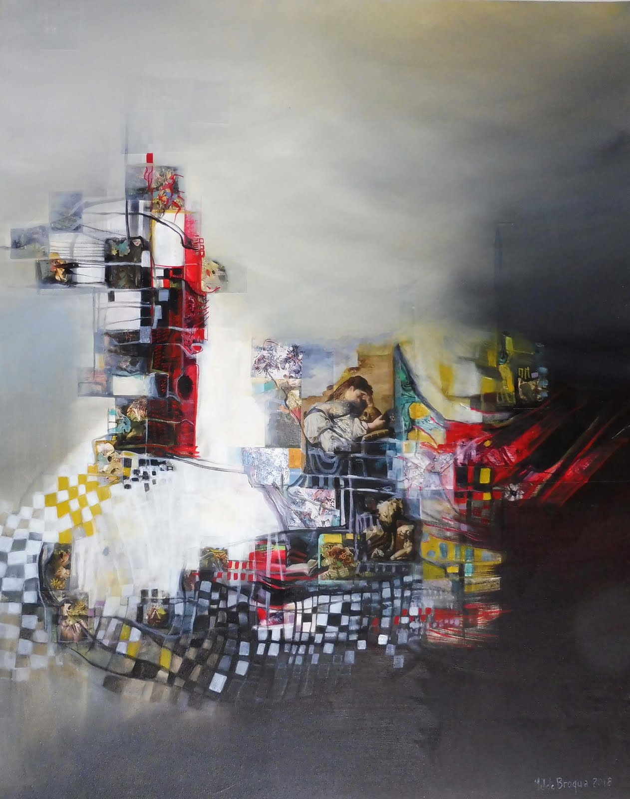 Mélancolie - 73 x 92 cm - 2018