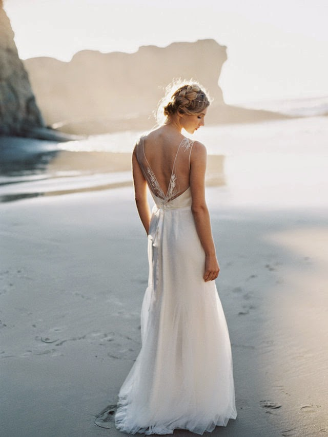 unique bohemian ethereal wedding dresses