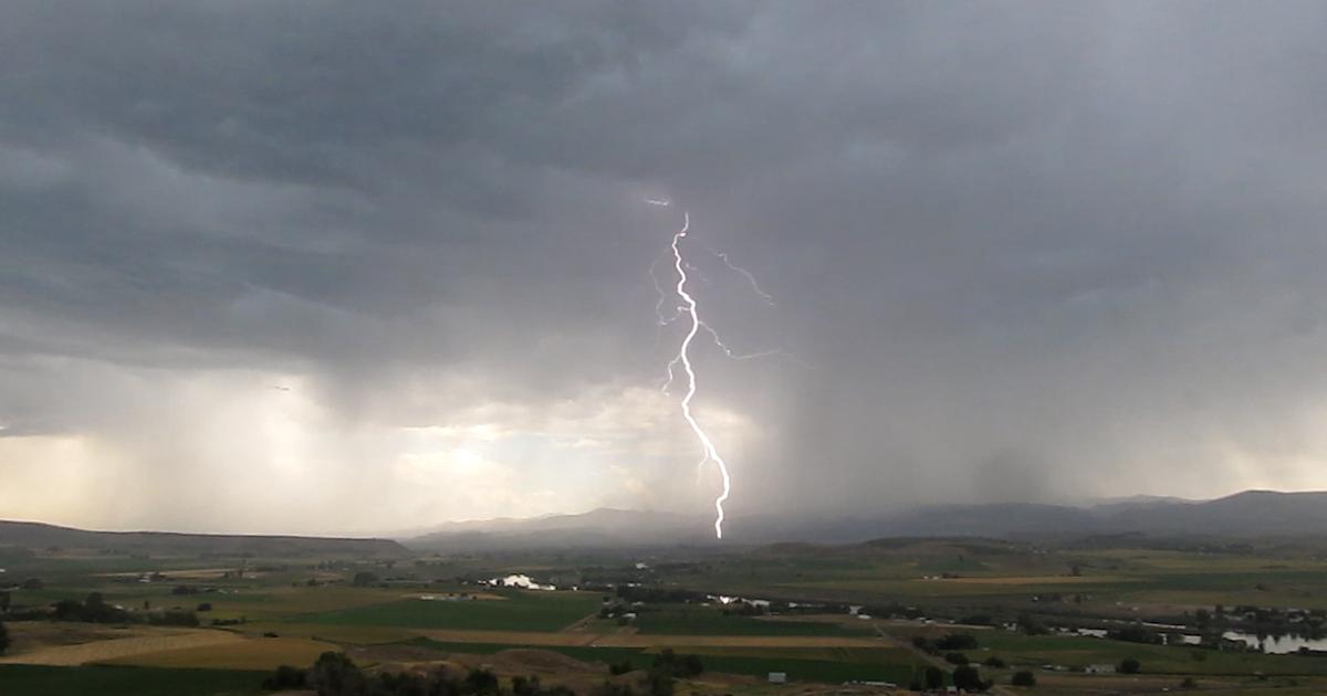 Idaho Storm Troopers Beautiful Electric Lightning Storm