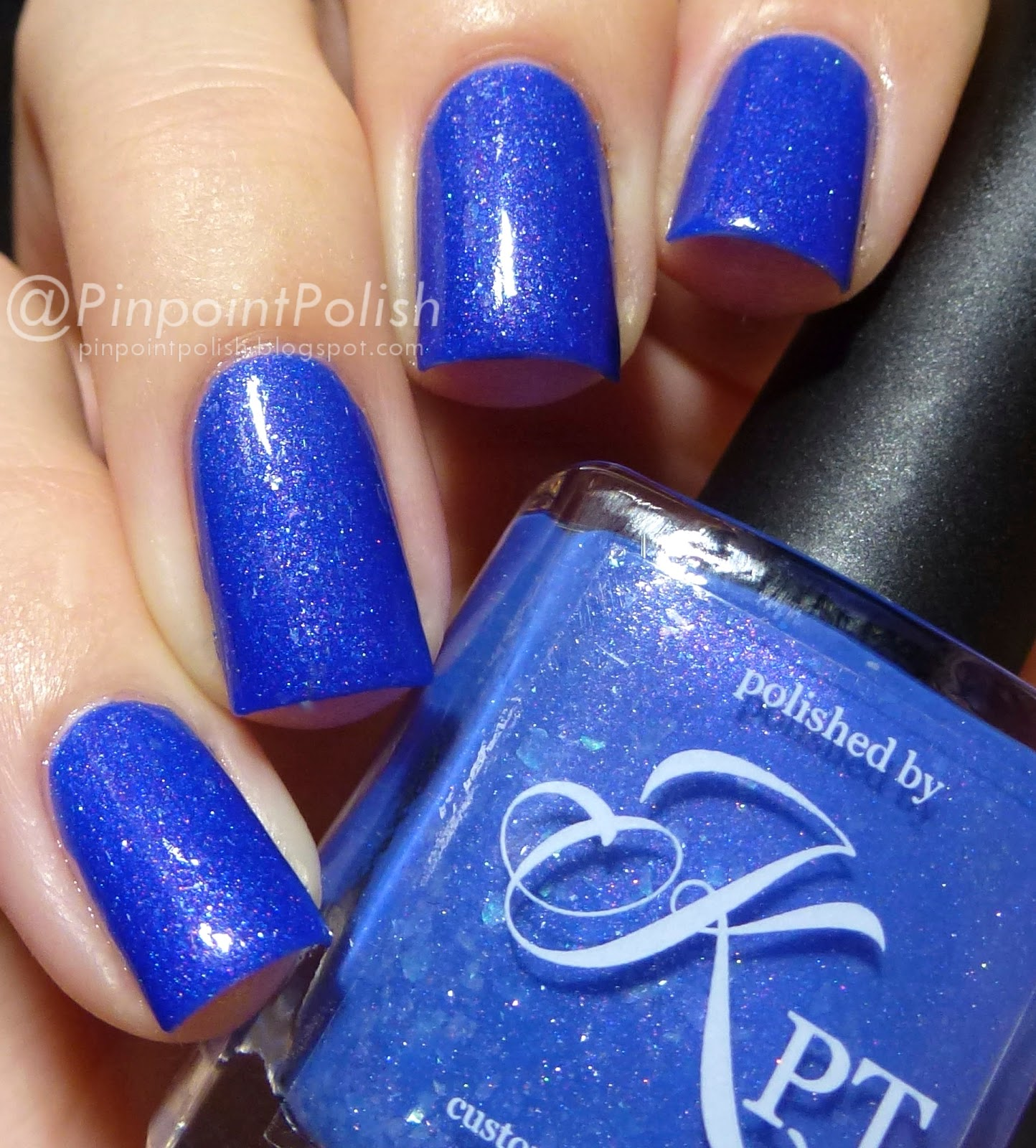 Hyacinth, Polished by KPT March Into Spring, thermal, swatch