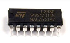 Circuito ponte H com L293