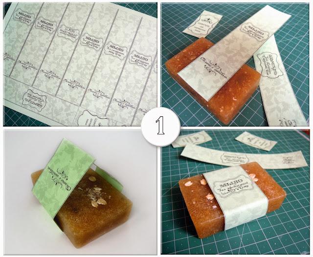 Этикетки для мыла ручной работы.
