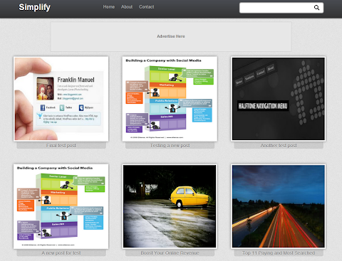 Simplify Blogger Theme