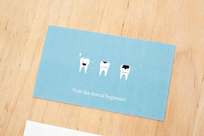 Jessicaha business cards for a dental hygienist business cards for a dental hygienist colourmoves