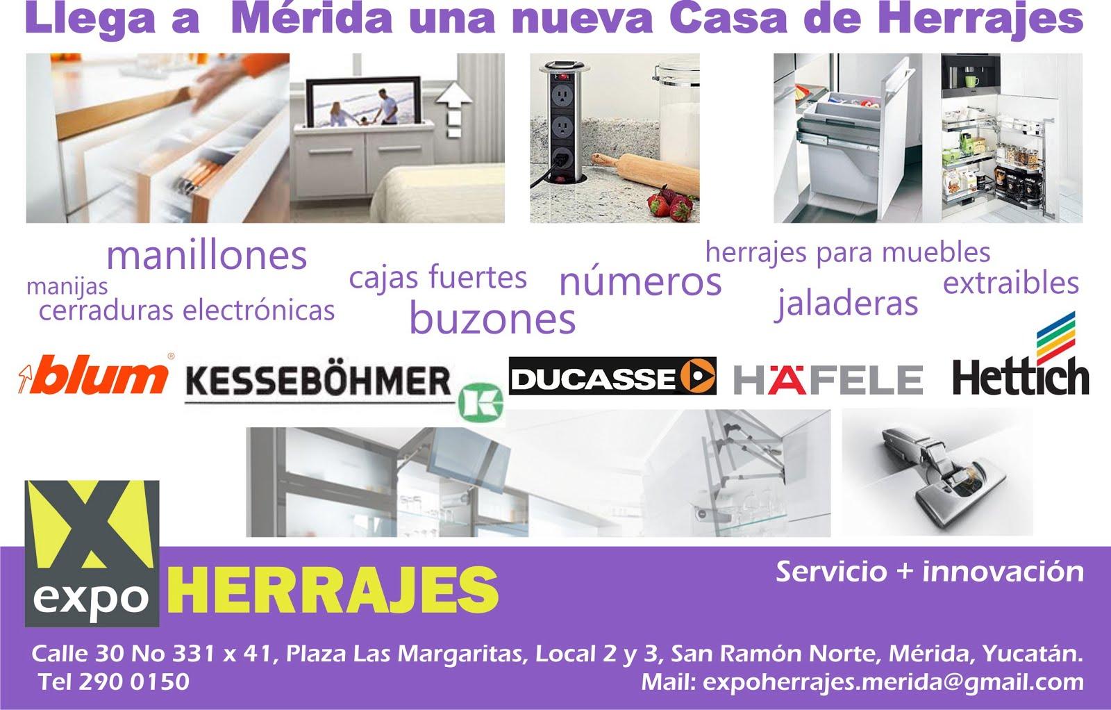 Yucatan expo herrajes merida for Articulos de cocina online