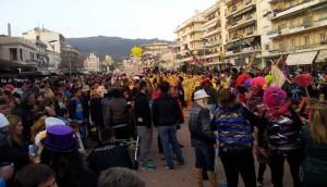Χιλιάδες κόσμου κατέκλυσαν την Καλαμάτα