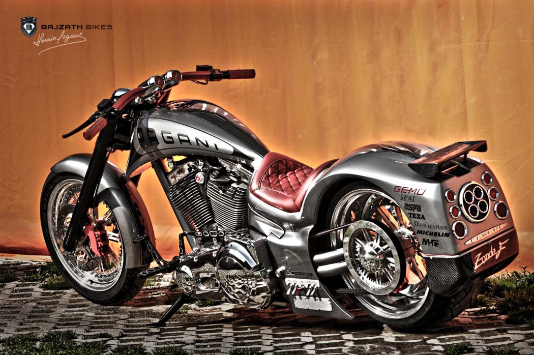 Pagani Motorcycle by Bajzath Bikes - Hot Blood