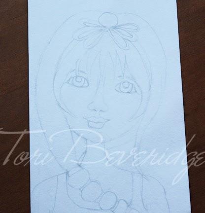 Happy Sketch by Tori Beveridge