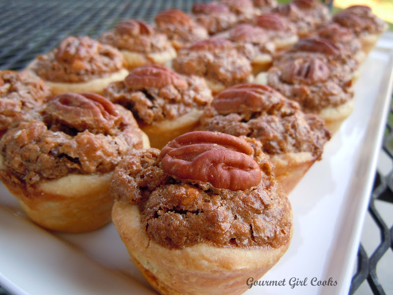 Gourmet Girl Cooks: Father's Day Cookout & Pecan Tassies ...
