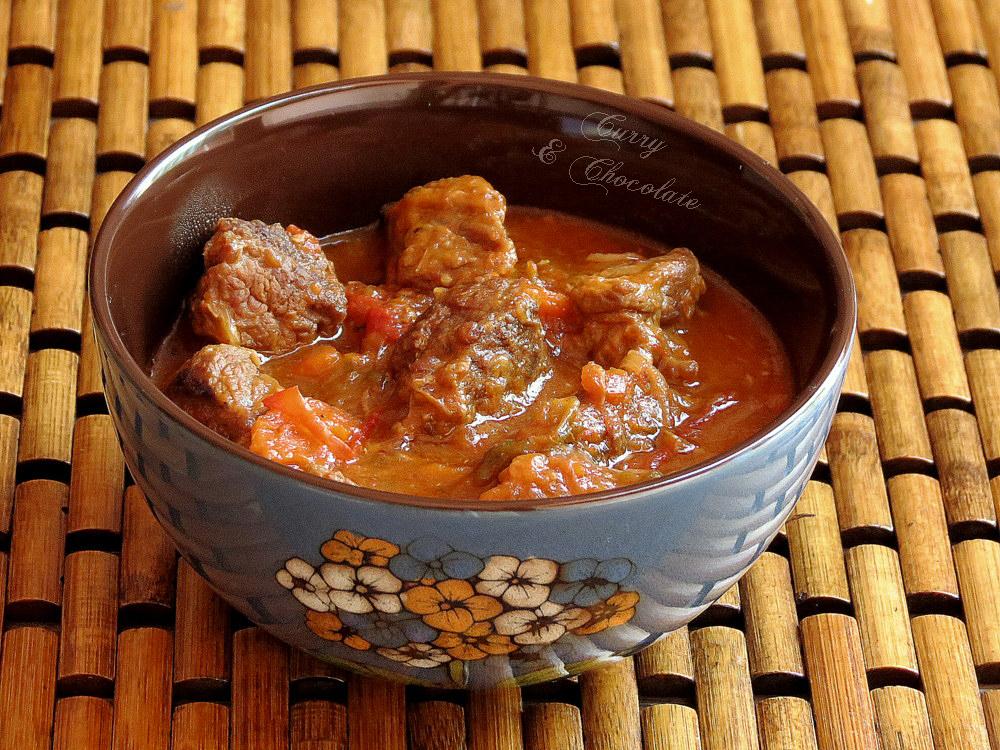 Ternera con salsa de soja al estilo de mi madre – Beef in soy sauce