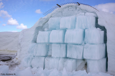ice hotel, melting