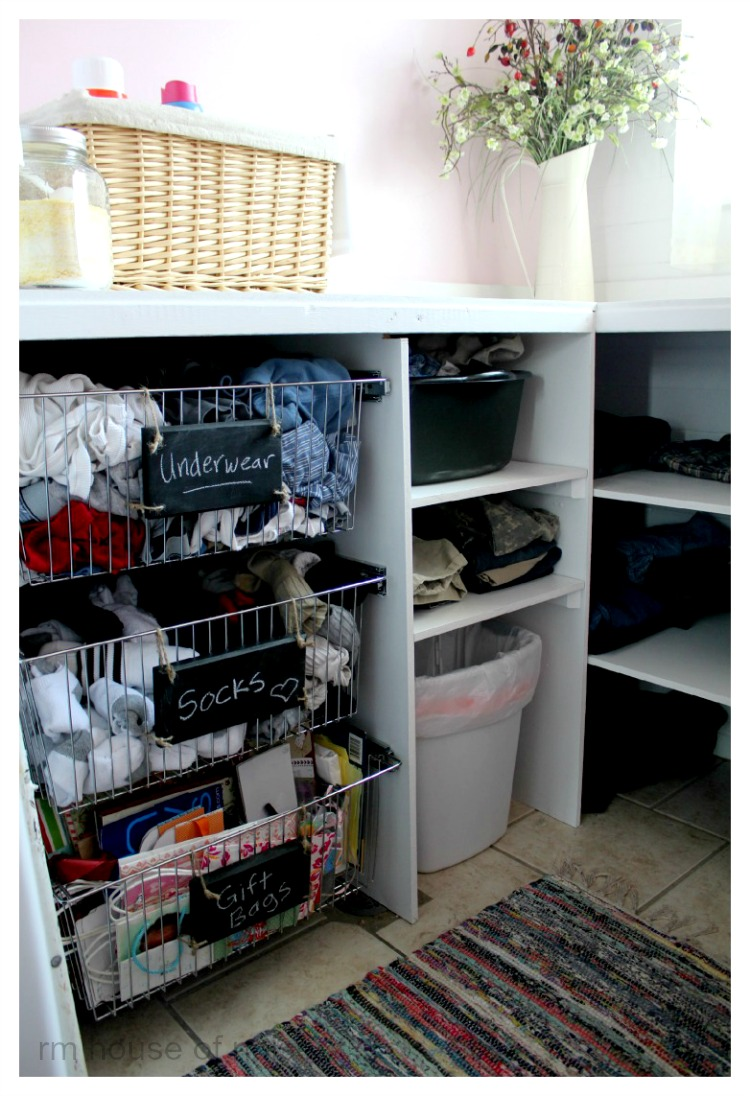 House of Noise... I mean boys.: Laundry-room Makeover