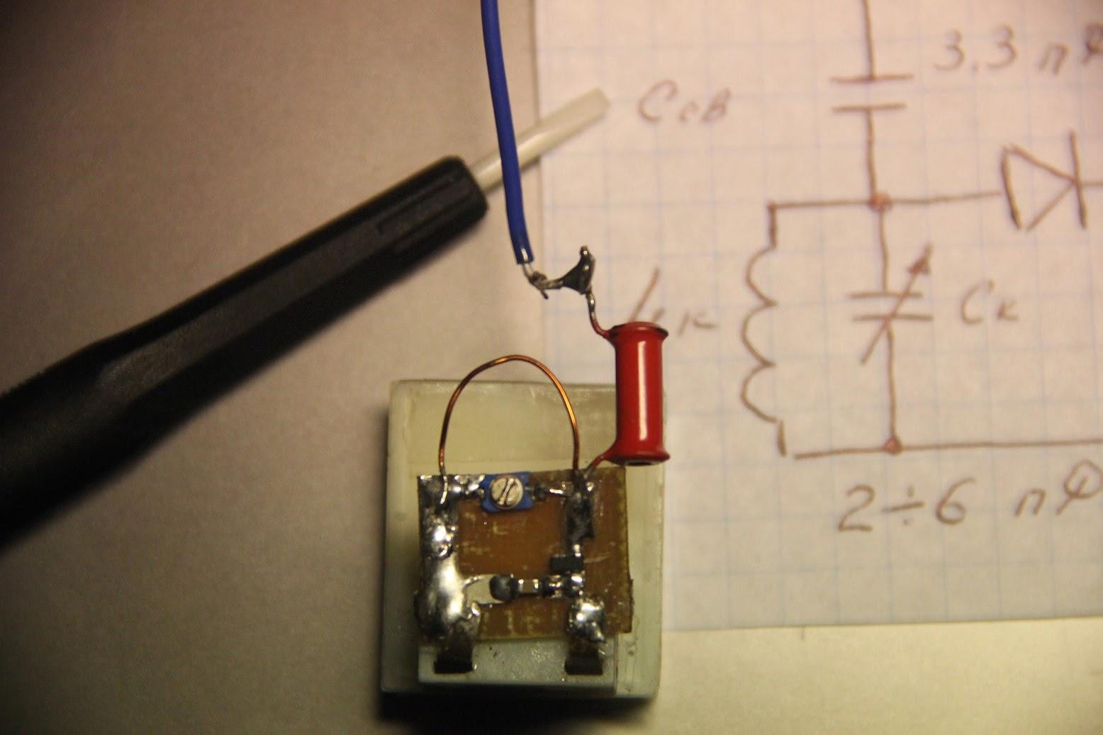 Детектор радиоизлучения своими руками 70