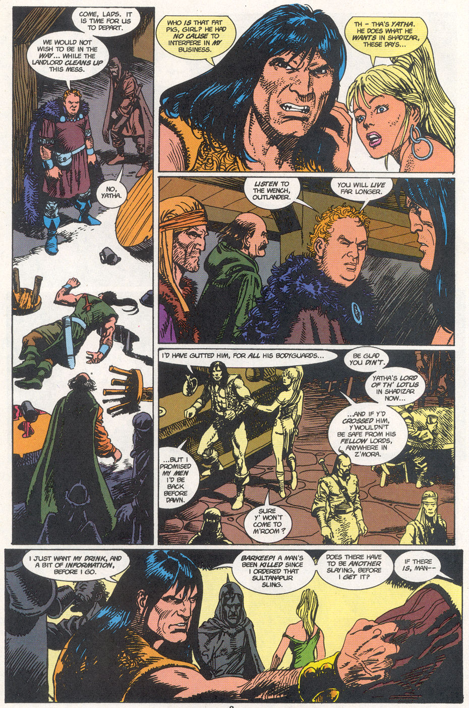 Conan the Barbarian (1970) Issue #273 #285 - English 7